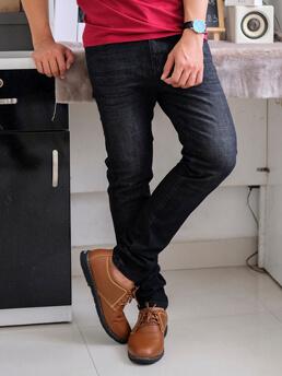 Quần Jeans Skinny Đen QJ1558