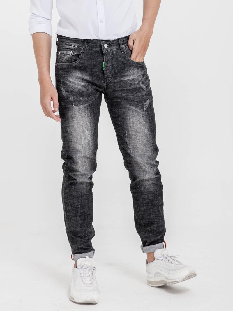 quan jeans skinny xanh den qj1613