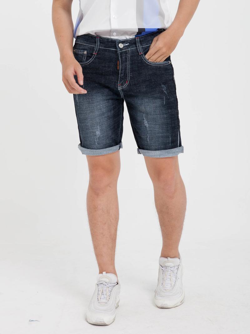 quan short jean xanh den qs158