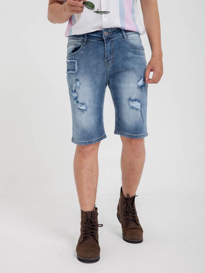 quan short jean xanh qs159