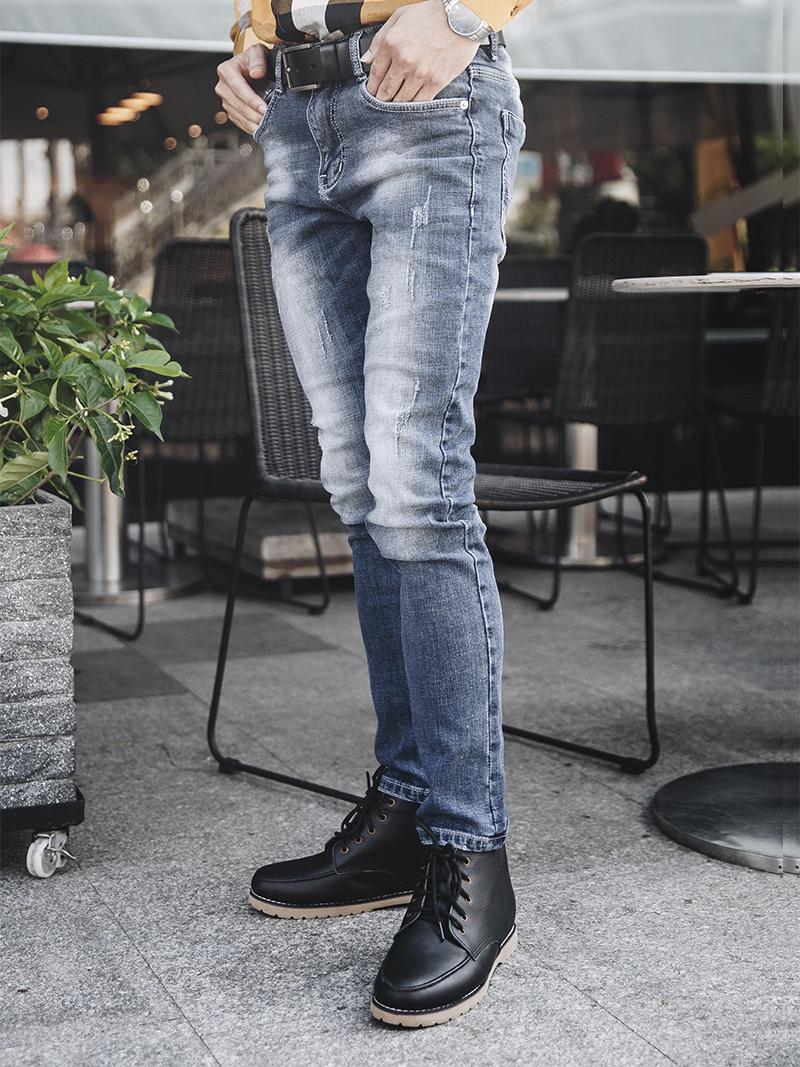 quan jeans rach xanh qj1631