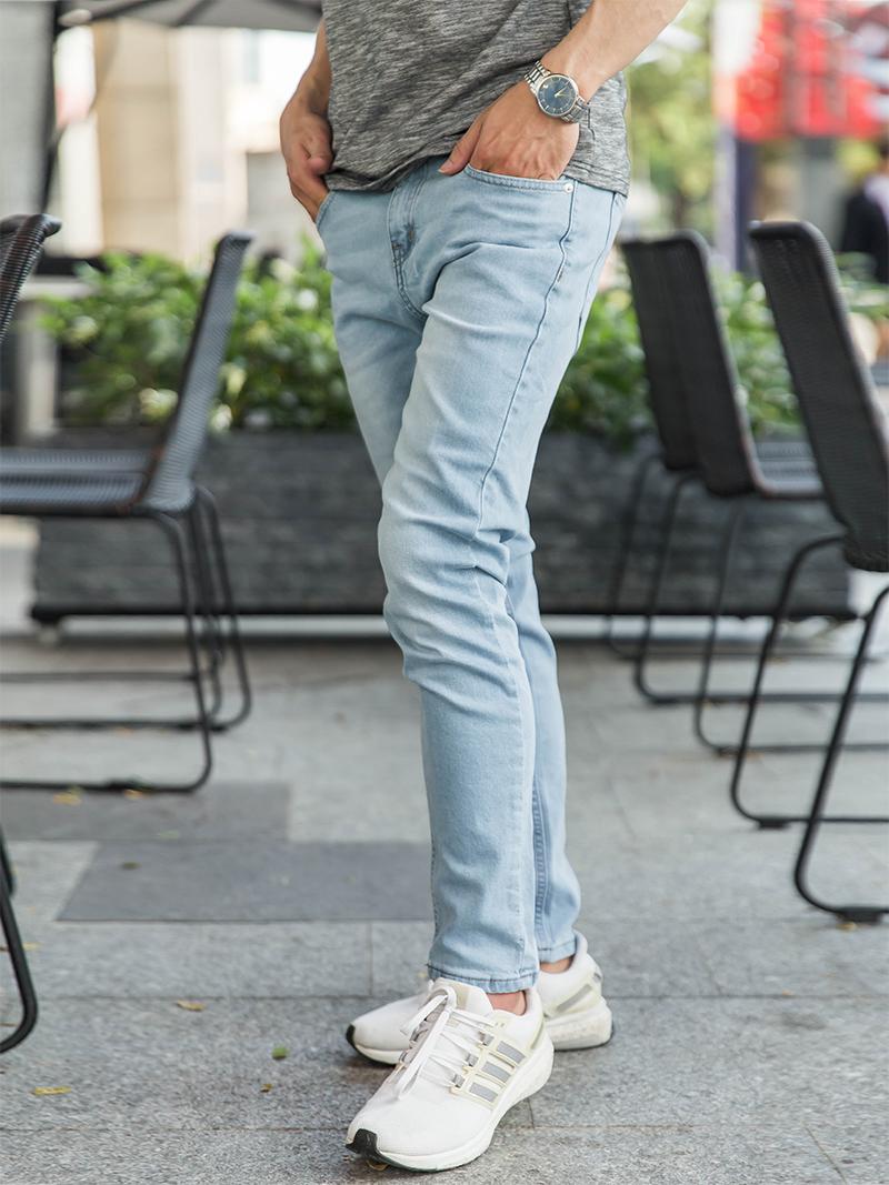 quan jeans skinny xanh bien dam qj1620