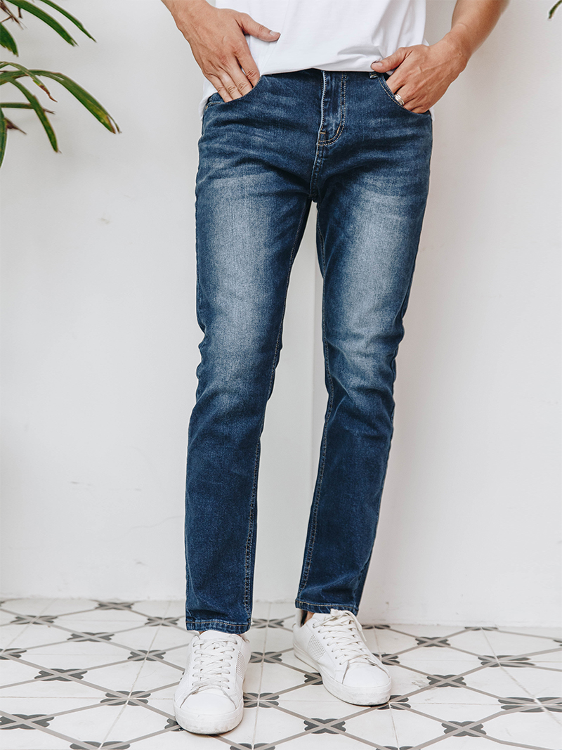 quan jeans skinny xanh den qj1627