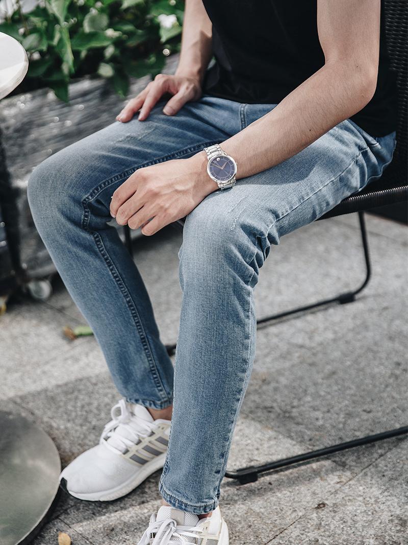 quan jeans skinny xanh qj1626