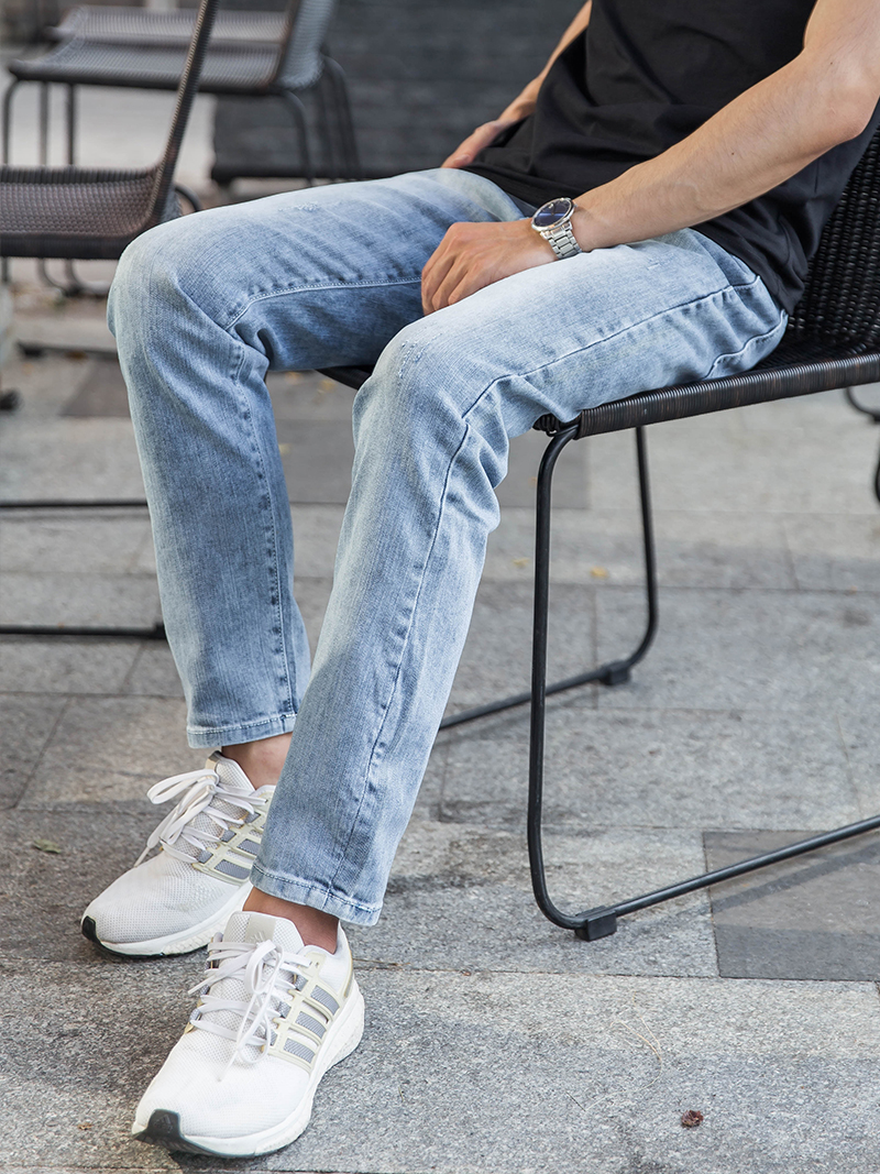 quan jeans slimfit xam qj1625