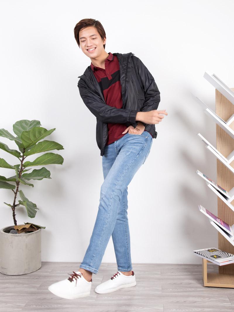 quan jeans skinny xanh duong qj1643