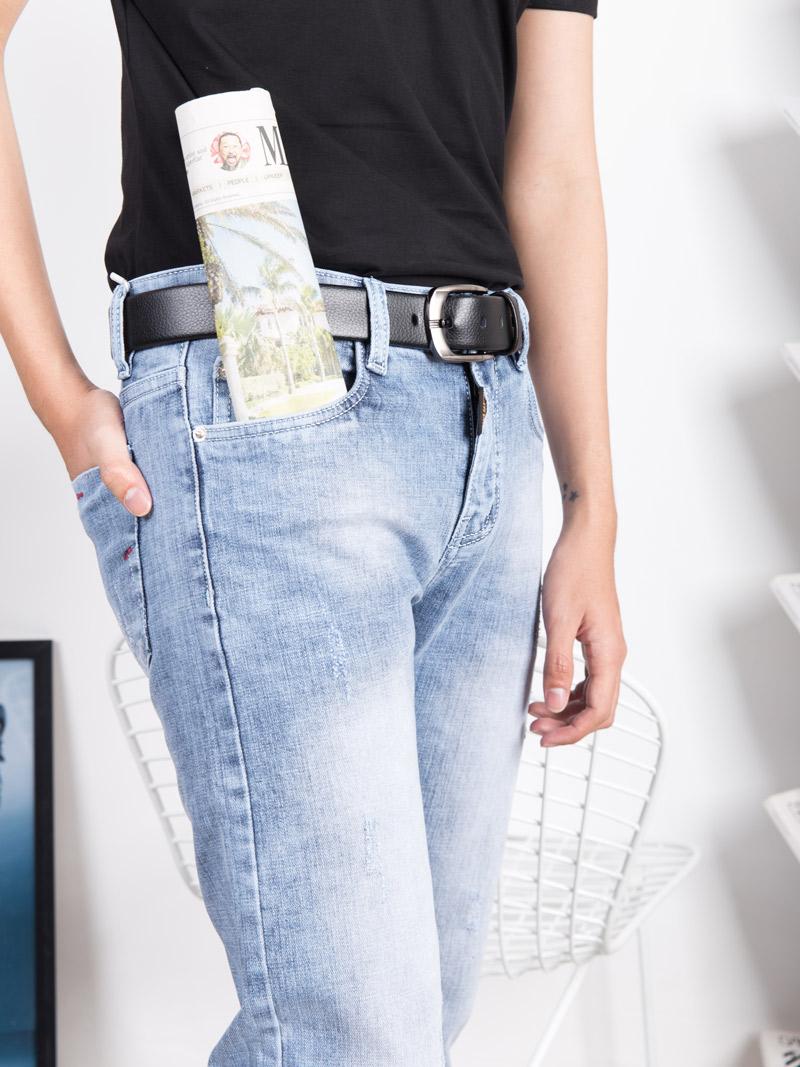 quan jeans slimfit xam xanh qj1639
