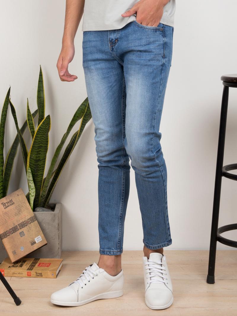 quan jeans skinny xanh duong qj1634