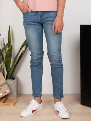 quan jeans skinny xanh duong qj1636