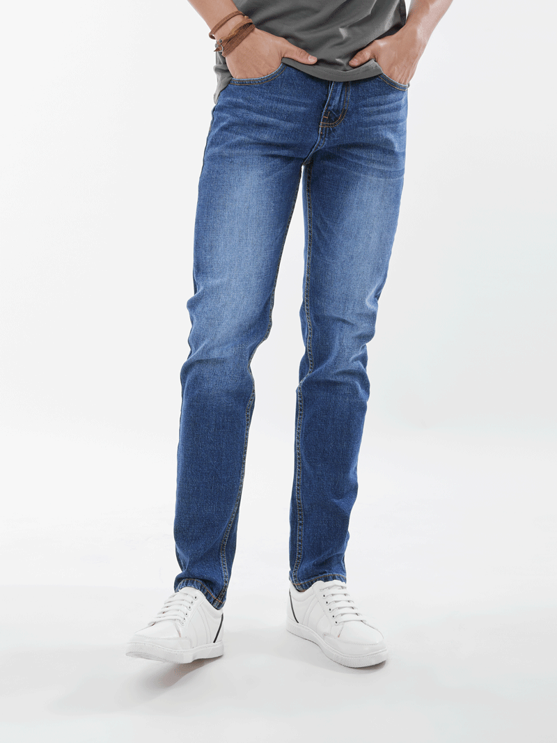 quan jeans ong dung xanh duong qj1644