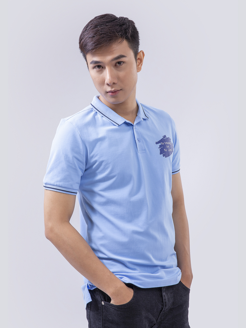 ao thun polo at828