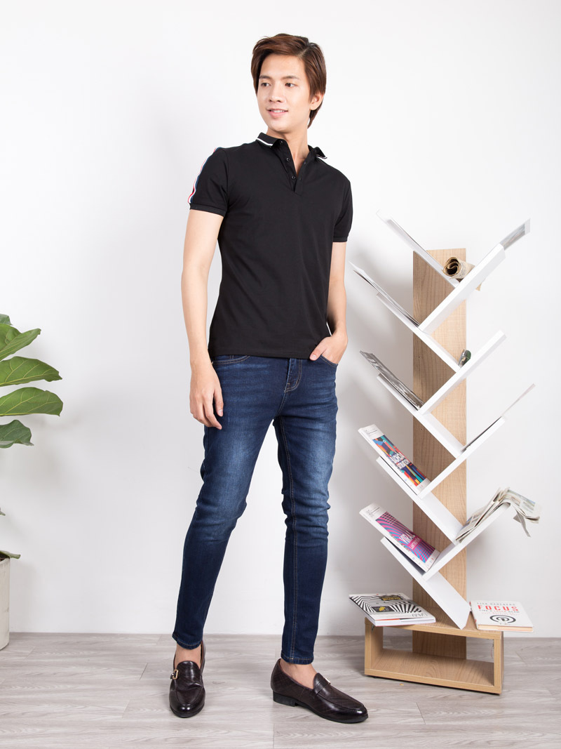 quan jeans skinny qj1633