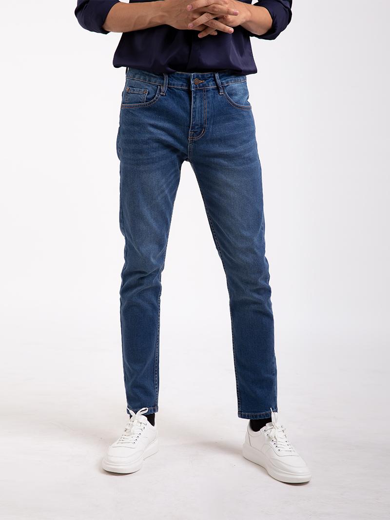quan jean slimfit mau xanh bien qj1670