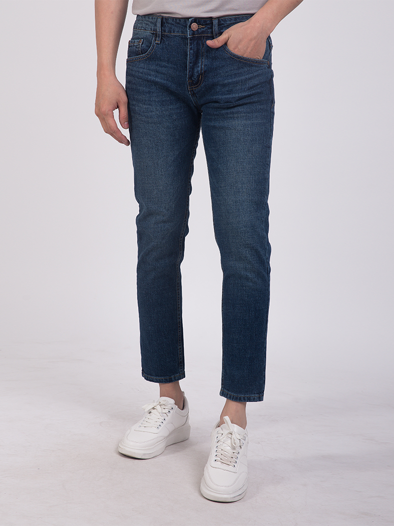 quan jean slim-cropped qj1679