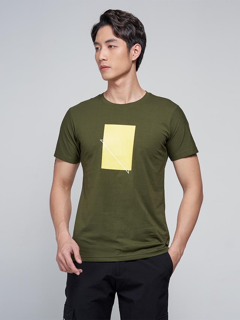 áo thun in hình vàng at031