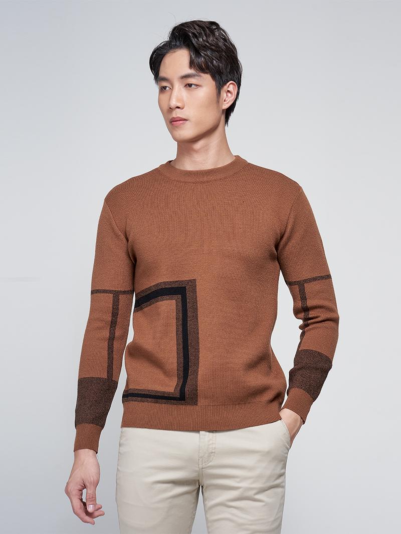 áo len mảng o vuong al003