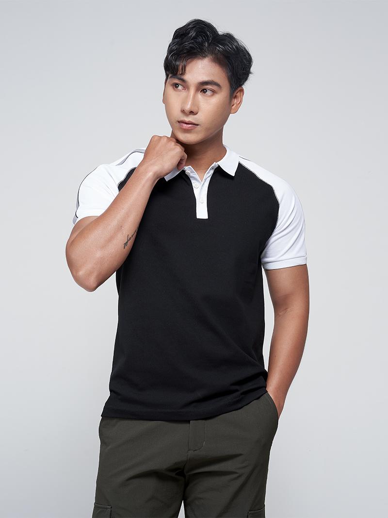 áo polo raglan phói luói po018
