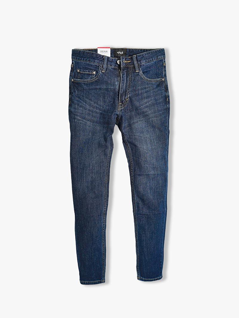 quan jeans tron form slimfit qj021