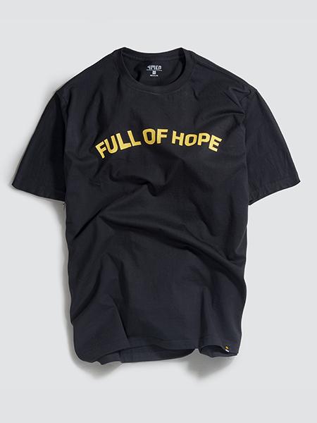 ao thun in full off hope at048