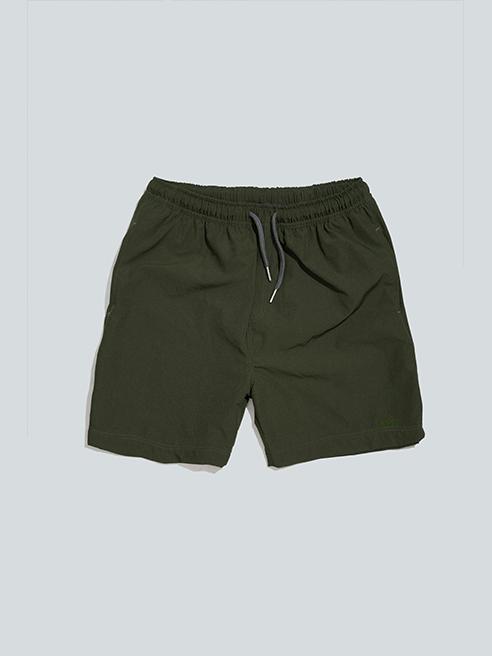 Quần Short Bơi Màu Rêu QS012